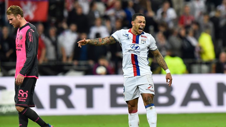 Memphis Depay could feature for Lyon on Thursday