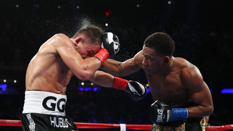 Daniel Jacobs took Gennady Golovkin to 12 rounds for the first time