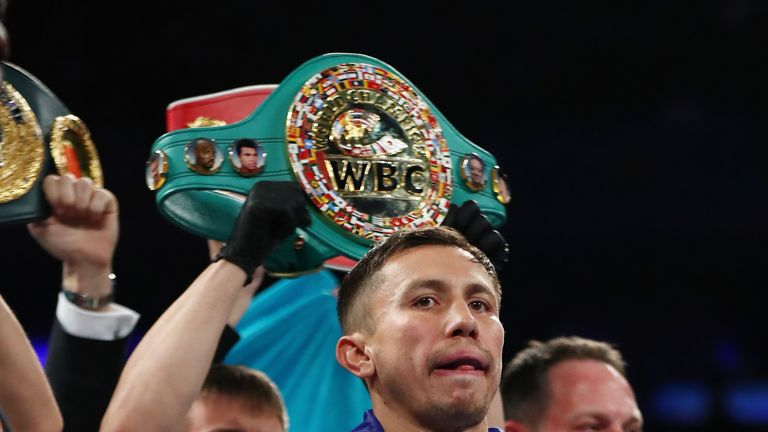 Gennady Golovkin was given unanimous points decision to beat Daniel Jacobs