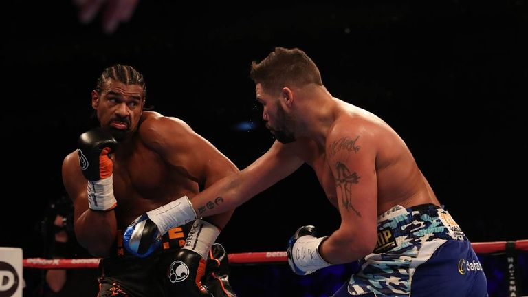 Haye had denied rumours of an injury in the days beforehand