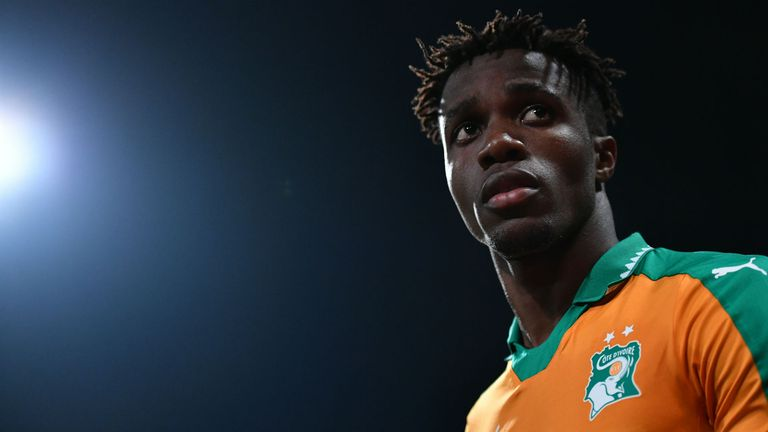 Wilfried Zaha has been included in the latest Ivory Coast squad