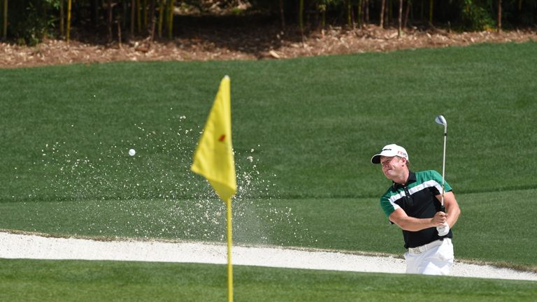 Donaldson has appeared in the previous four Masters tournaments