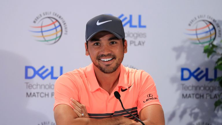 Jason Day gave no hint of his emotional turmoil ahead of the WGC Match Play