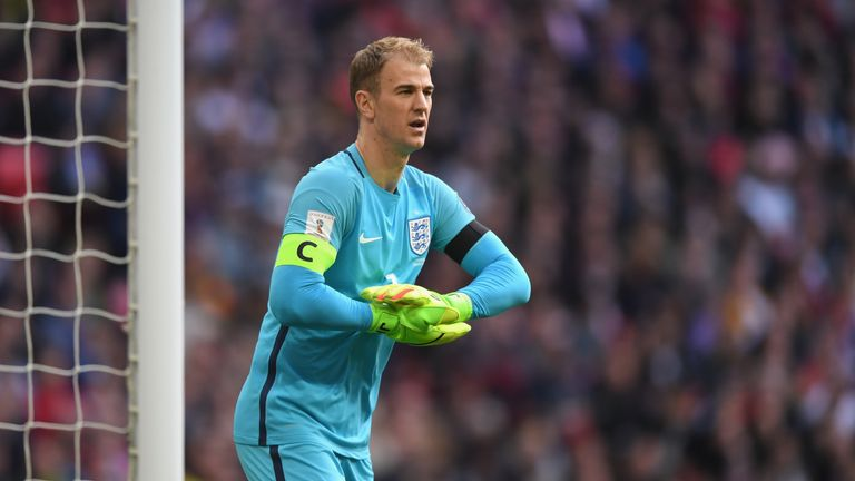 Joe Hart has been capped 71 times by his country