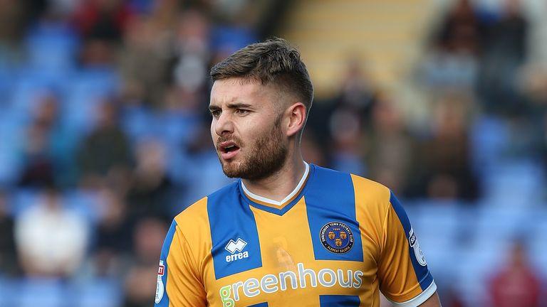 Joe Riley of Shrewsbury Town