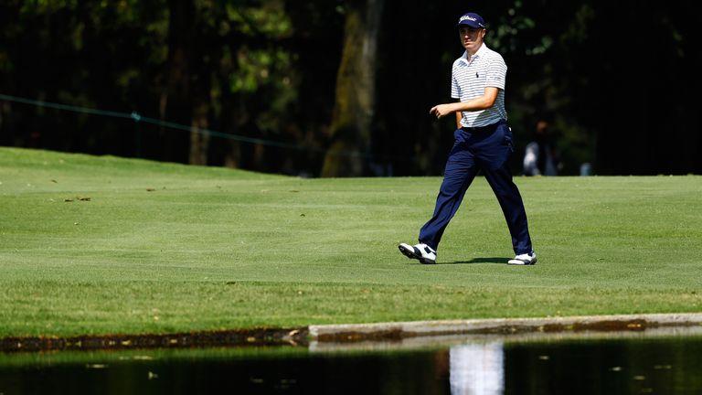 Thomas is chasing a fourth win of the PGA Tour season