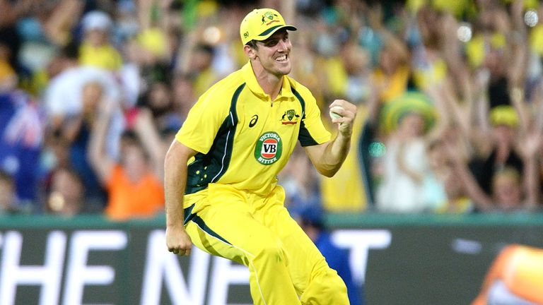 Australia's Mitch Marsh was bought by Sunrisers for £215k