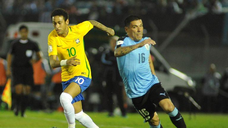 Neymar was also on target for Brazil