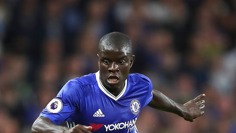N'Golo Kante has been the engine at the heart of Chelsea's title charge