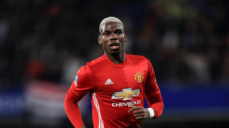 Paul Pogba has not travelled to London for the clash with Spurs on Sky Sports 1 HD