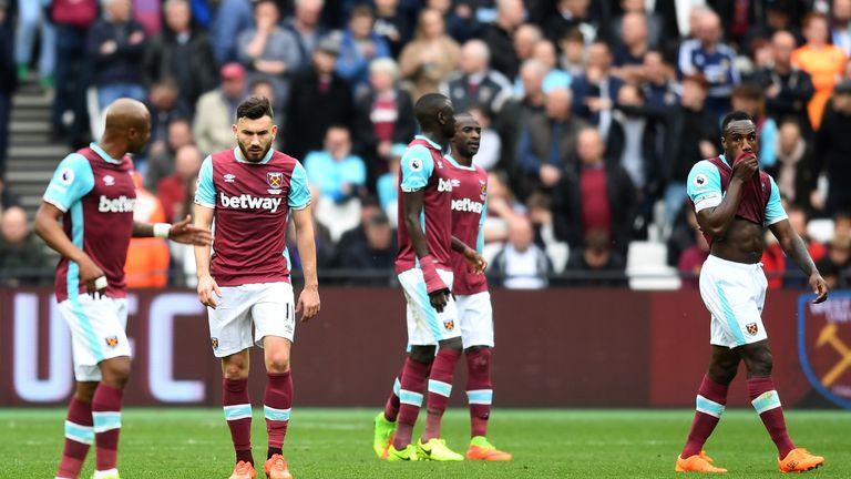 West Ham were beatemn