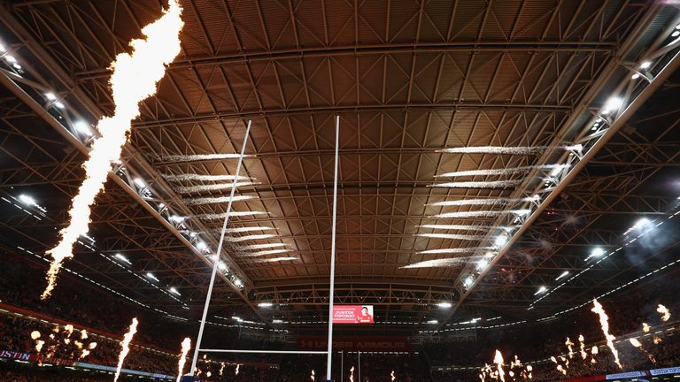 The Principality Stadium in Cardiff will host this year's Champions League final
