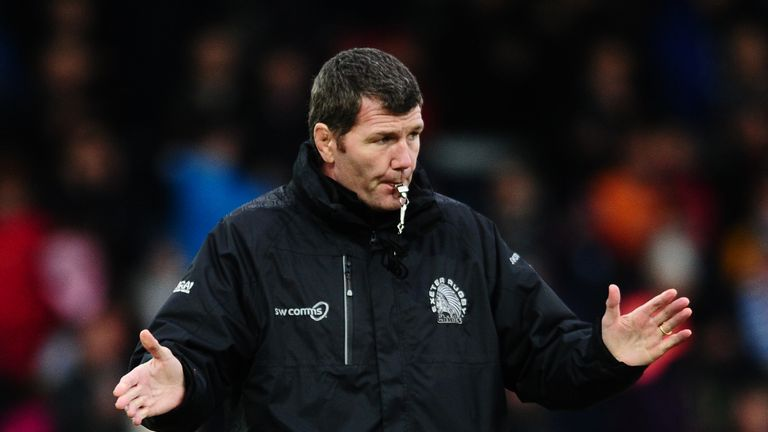 Rob Baxter will continue at the helm but with the new job title of director of rugby