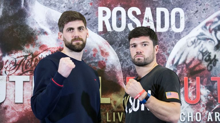 Rocky Fielding and John Ryder will battle for the vacant British title
