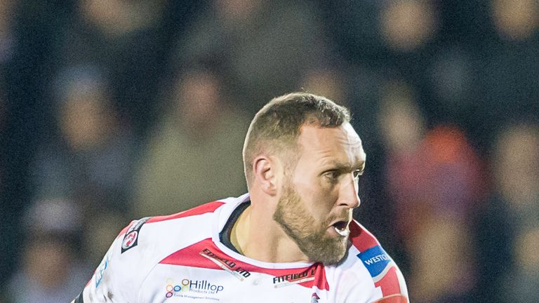 Gareth Hock will play for Featherstone this season