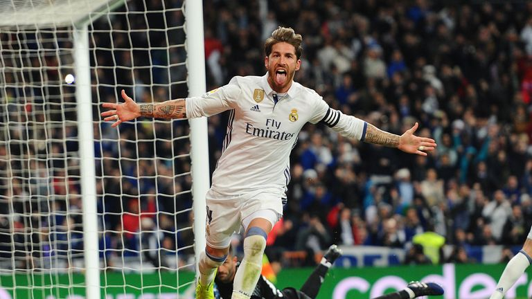 Sergio Ramos scored another late winner for Real Madrid