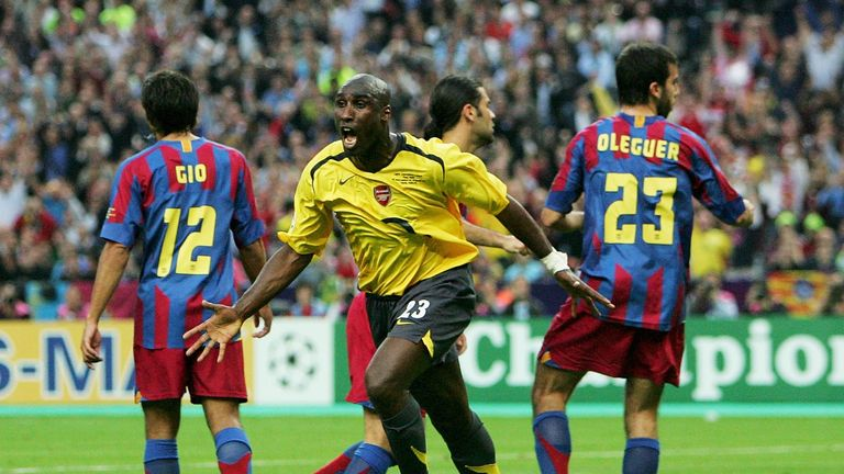 Sol Campbell came agonisingly close to winning the Champions League with Arsenal in 2006
