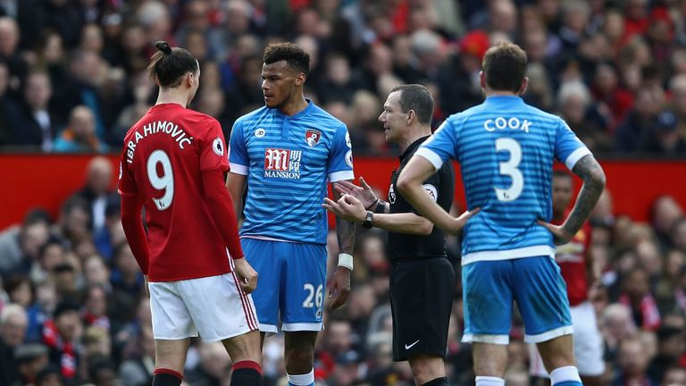 Tyrone Mings was banned for five games for the stamp on Zlatan Ibrahimovic in March 2017, but he insists it was accidental