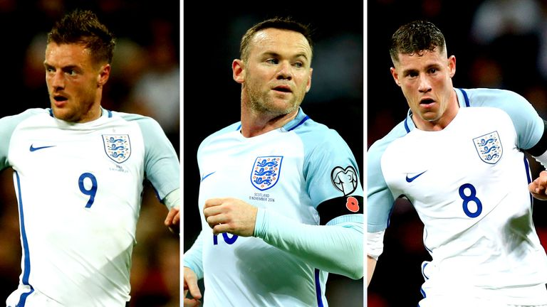 Will Jamie Vardy, Wayne Rooney and Ross Barkley make it into the next England squad?