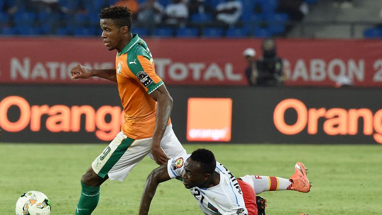 Could Bohui follow in Wilfried Zaha's footsteps and switch his allegiances to Ivory Coast?