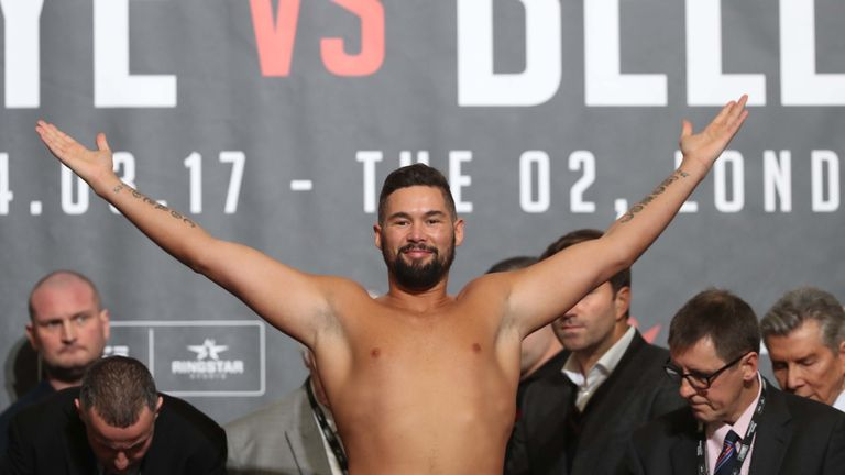 Bellew says he packed on pounds to contend with Haye's power