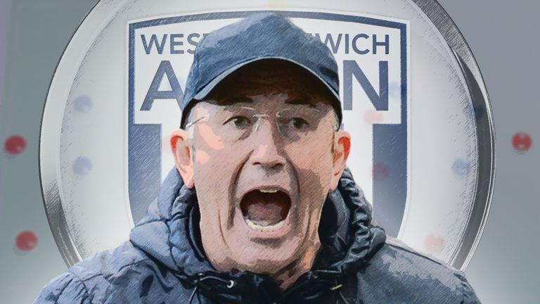West Brom manager Tony Pulis has his own unique brand of tactics