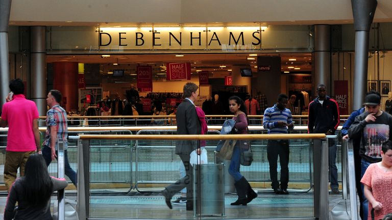 Mr Ashley owns a 30 per cent stake in Debenhams, House of Fraser's main rival
