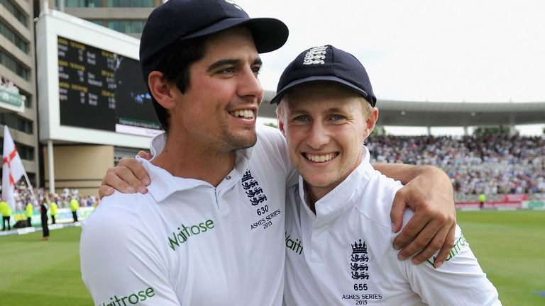 Alastair Cook handed Joe Root his debut in Nagpur in 2012