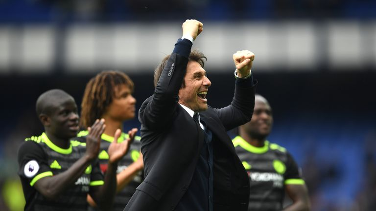 Antonio Conte could win the Premier League title in his first season in England