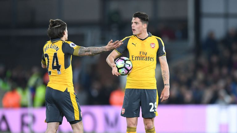 Arsenal players like Hector Bellerin and Granit Xhaka were not at their best