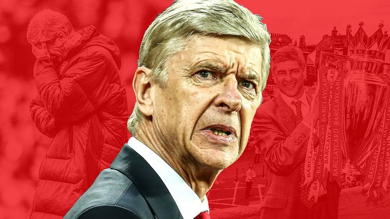 Arsenal Wenger has endured highs and lows since his last Premier League win