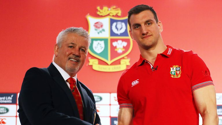 Warren Gatland and Sam Warburton set to lead the Lions against the mighty All Blacks