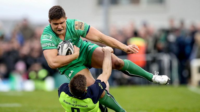 Connacht's Dave Heffernan was picked, having only converted to hooker in 2013