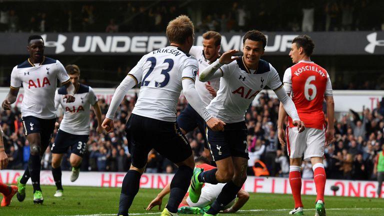 Arsenal lost 2-0 to Tottenham on Sunday