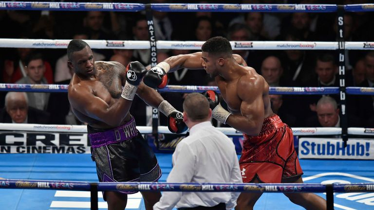 Dillian Whyte hopes a 'massive' rematch with Anthony Joshua happens next summer