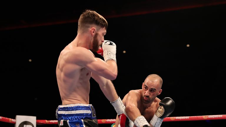 Dodd and Appleyard battled out an exciting fight at lightweight