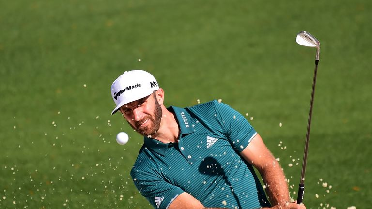 Johnson is looking to become the first world No 1 to win the Masters since Tiger Woods in 2002