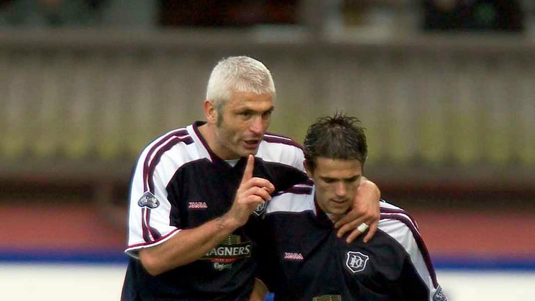 The former striker also had a brief stint with Dundee in 2003