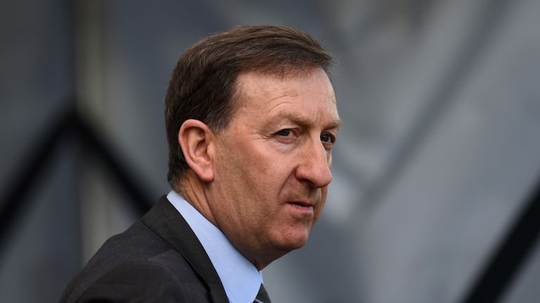 Huw Jenkins is leaving his role as Swansea chairman after 17 years