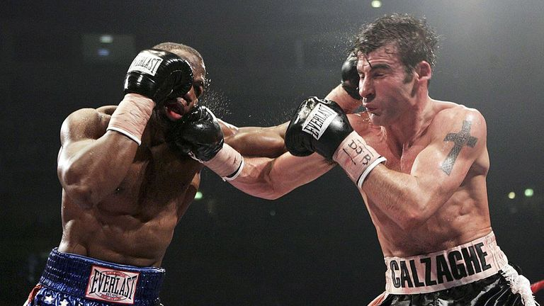 Jeff Lacy brought the IBF super-middleweight title over, but left without it