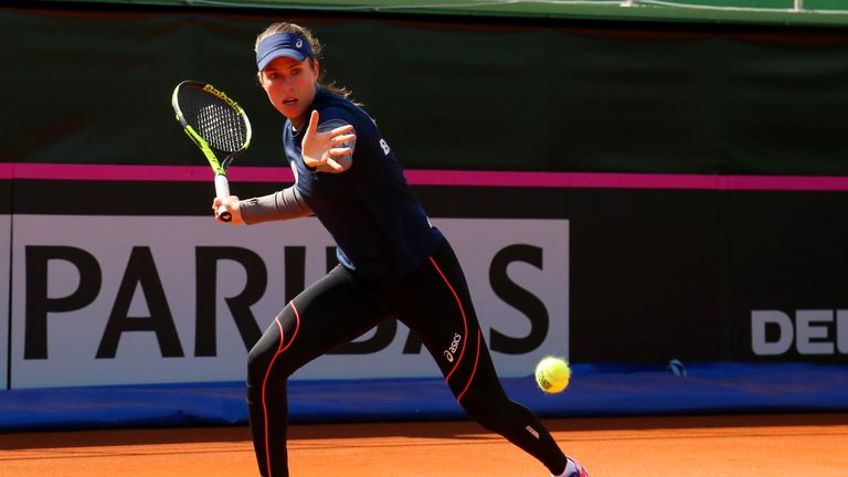 Johanna Konta says she was verbally abused by a spectator and Nastase