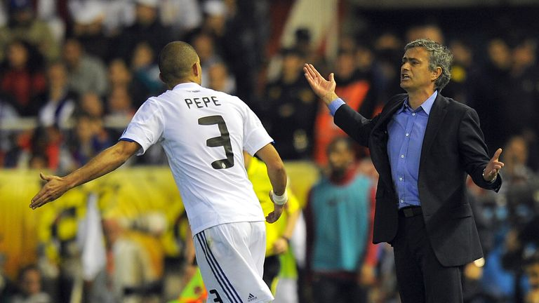 Jose's Real Madrid spell ended in messy fashion