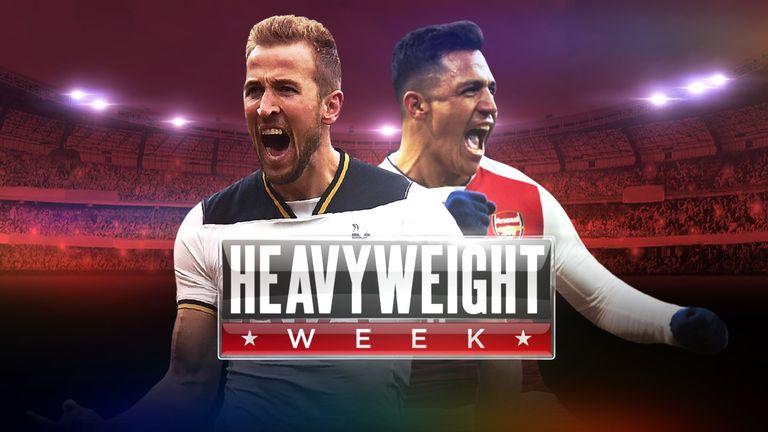 Title-chasing Tottenham host north London neighbours Arsenal, on Sunday, live on Sky Sports 1