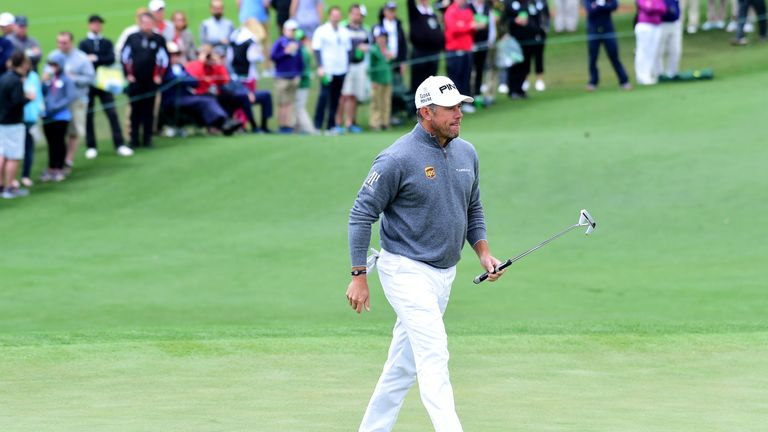 Westwood finished runner-up to Danny Willett at Augusta in 2016
