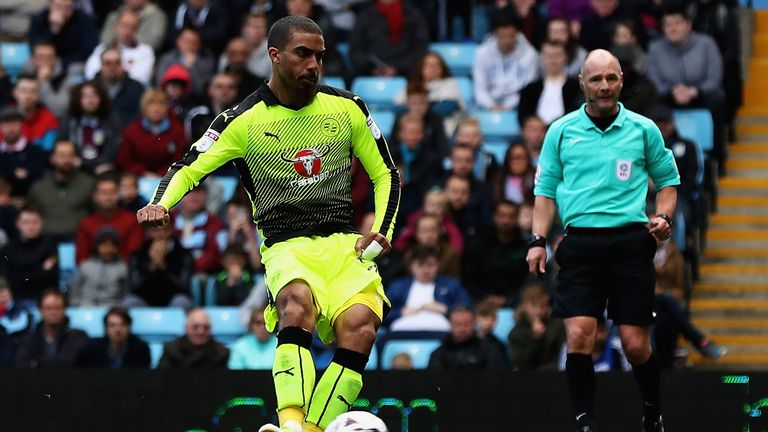 Lewis Grabban was on loan with Reading during last season