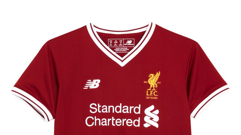 ab20587b7 New Liverpool kit for 2017 18 season (Pic courtesy of Liverpool FC)