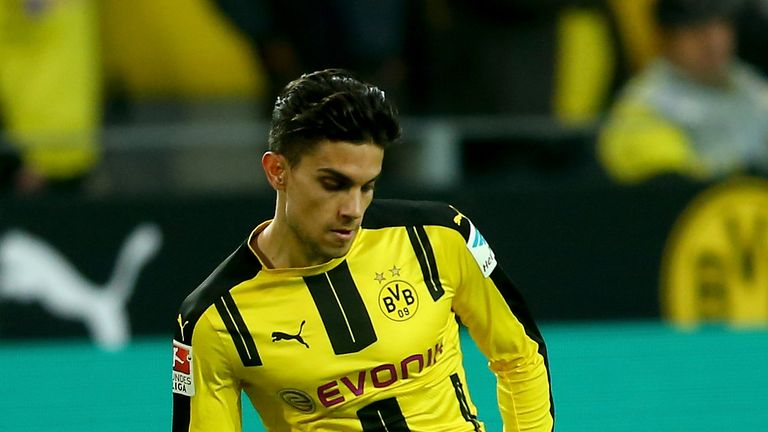 Marc Bartra suffered a broken wrist during the explosions