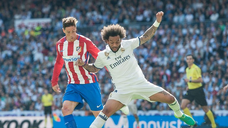 The Champions League semi-final between Atletico Madrid and Real Madrid is too close to call