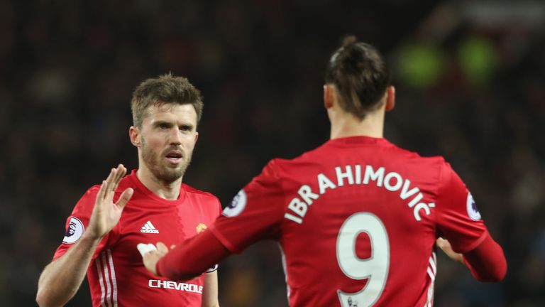 Michael Carrick remains a key member of the Manchester United squad