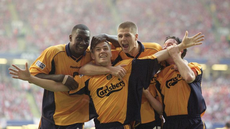 Michael Owen played alongside Gerrard for six years at Liverpool